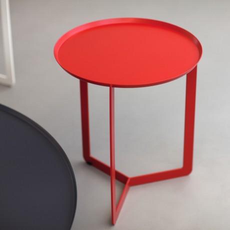 Tavolino da salotto in metallo ROUND 1