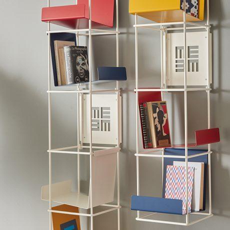 Libreria modulare da parete LIBRO VERTICALE di Memedesign 3