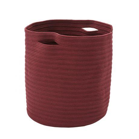 Cesto in tessuto portavasi ETTORE di MEMEDESIGN color porpora