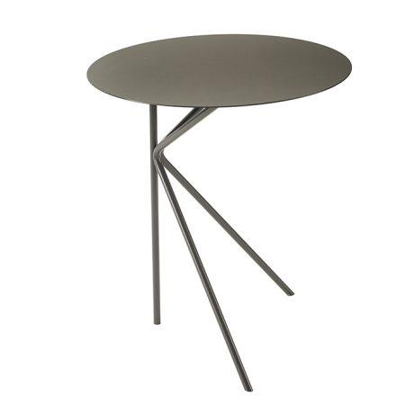 Tavolini rotondi da esterno e interno TWIN A di MEMEDESIGN